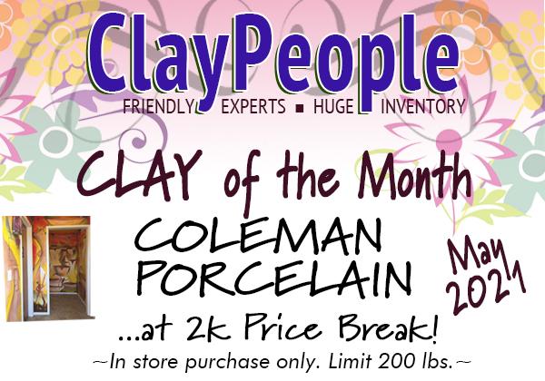 May 2021! Coleman Porcelain at 2k price break!